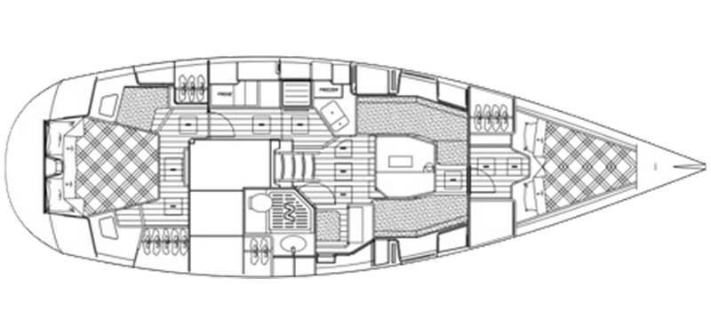 Najad 411 CC - 411-deck-top-view-inside-1.png