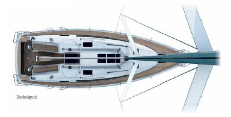 Bavaria Cruiser 41 - deck.jpg